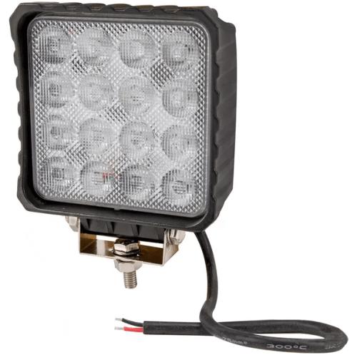 Faro da lavoro a LED 3840lm 48W a fascio ampio 80°