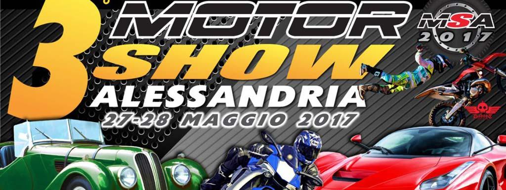 Terzo Motor Show Alessandria, 27-28 maggio