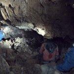 La mattina successiva siamo stati a visitare e rilevare la Grotta della Vecchia Diga (anche qui eravamo in gruppi di 3-4 persone)