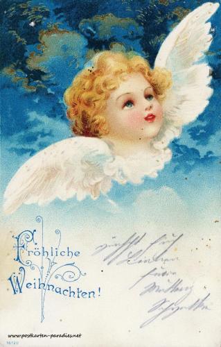 Weihnachtskarten aus dem Kaiserreich