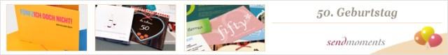 50. Geburtstag, einladungen, Geburtstagskarten, Danksagungskarten bestellen