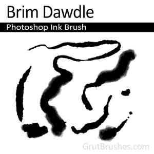 Brim Dawdle - Photoshop Ink Brush