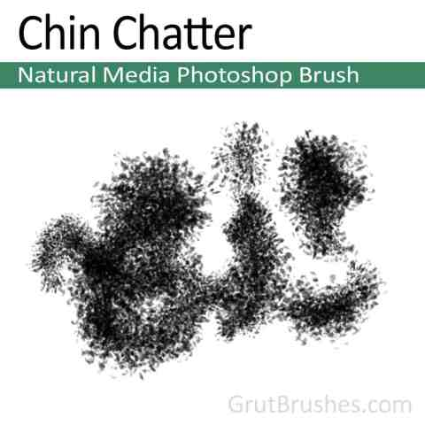 Photoshop Natural Media Brush 'Chin Chatter'