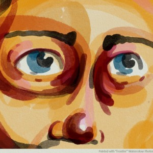 download free real watercolour Photoshop brush