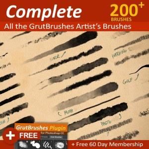 GrutBrushes-ArtBrushes-Photoshop-brushes-collections
