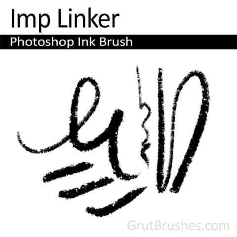 Photoshop Ink Brush 'Imp Linker'