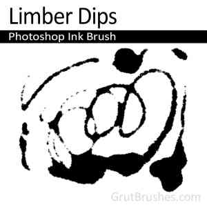 Photoshop Ink Brush toolset 'Limber Drips'