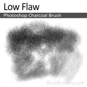 'Low Flaw' Photoshop Charcoal Brush digital artist's toolset