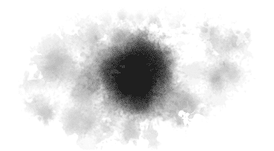 ink and water stain Photoshop brush