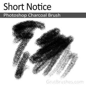 'Short Notice' Photoshop Charcoal Brush