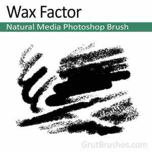 realistic Photoshop pastel brush
