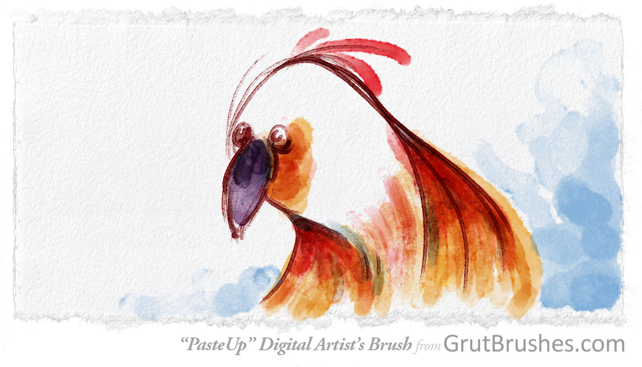 how to make watercolor brush in photoshop