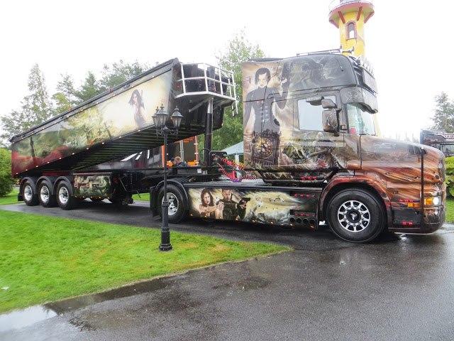 удивительные грузовики