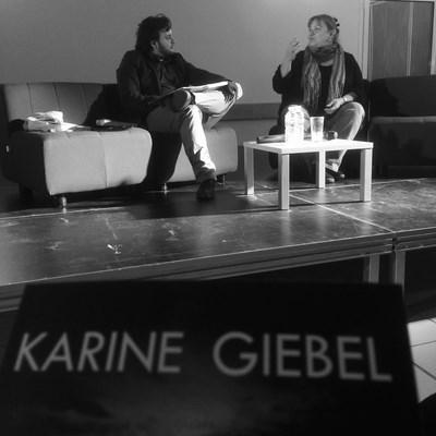 Karine Giebel Bibliothèque Fleury sur orne