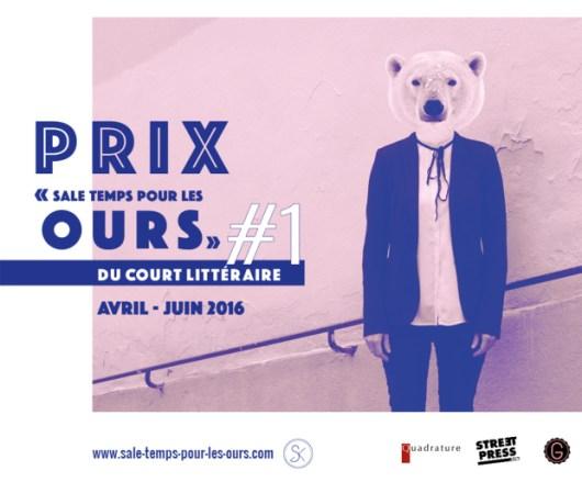 Prix Sale temps pour les ours - court littéraire