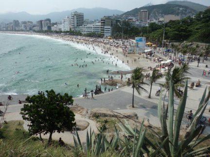 Utsikt over Ipanema Beach