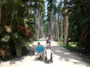 185. Steinar og Gry ved palmehagen