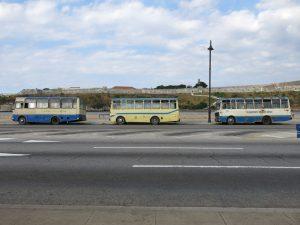128. Tre gamle busser
