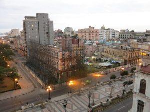 13. Utsikt fra hotellrommet