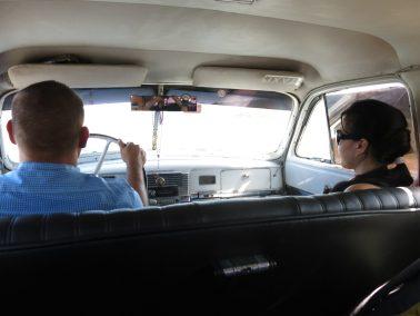2. Ekteparet drosje
