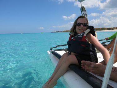 54. Vi seiler med catamaran