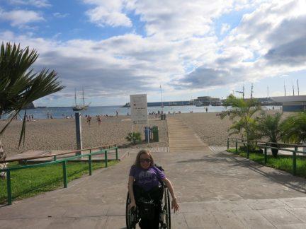 37. Handicapvennlig ned til Playa de Los Christianos