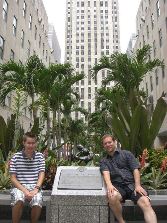 1. Rockefeller center