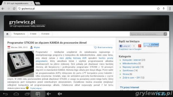 Przeglądarka Chrome