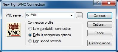 TightVNC Viewer w Windows