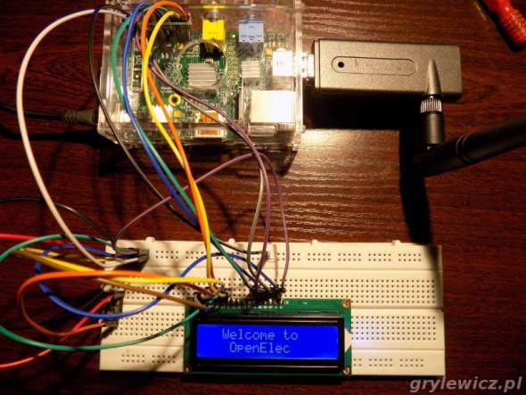 LCD hd44780 i Raspberry Pi