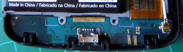 Nexus 4 gniazdko micro USB