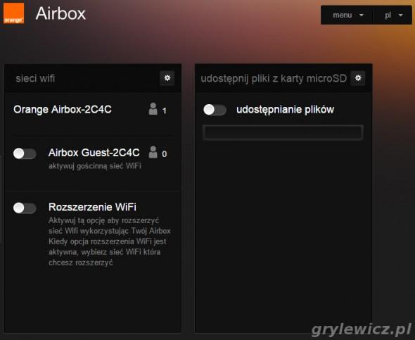 Menu airbox cz. 2