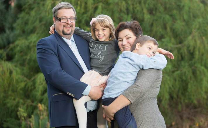 Grzegorz Gembalski Wybory 2015 rodzina