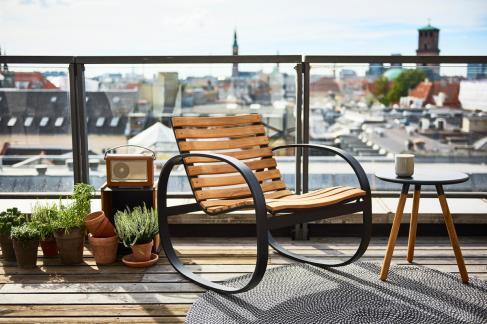 PARC Cane-line. Fotel bujany. City furniture.