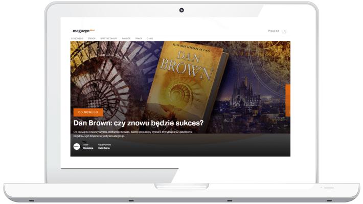 Blogowanie w e-commerce - magazyn Allegro