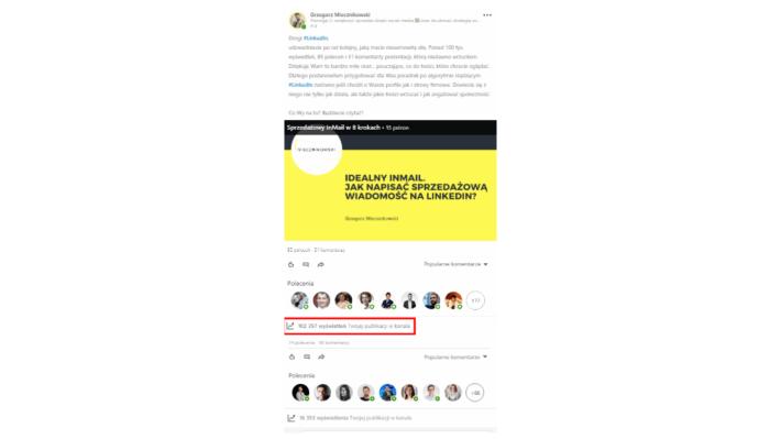 Algorytm LinkedIn