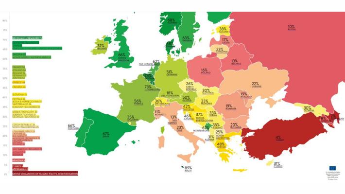 Homofobia w Polsce. Ilga Europe