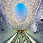 Станция метро Толедо. Неаполь, Италия (фото)