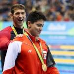 Сингапурский пловец за золото на ОИ-2016 получит награду $1 млн