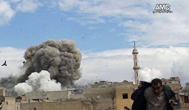 Сирийские повстанцы атакуют правительственную армию в Алеппо
