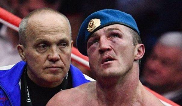 Рябинский опроверг слухи о тяжелом состоянии боксера Лебедева