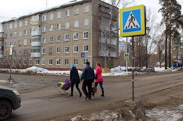 Мэр Краснокамска сбила женщину и ребенка на пешеходном переходе
