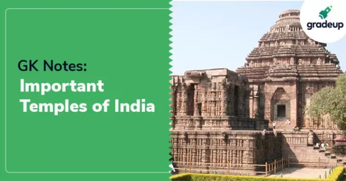 GK Notes: Important Temples of India
