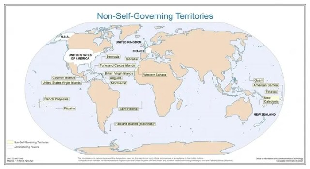 Non-Self Governing Territories