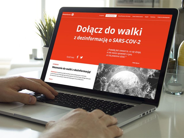 Startuje #Fakehunter – system do walki z infodemią