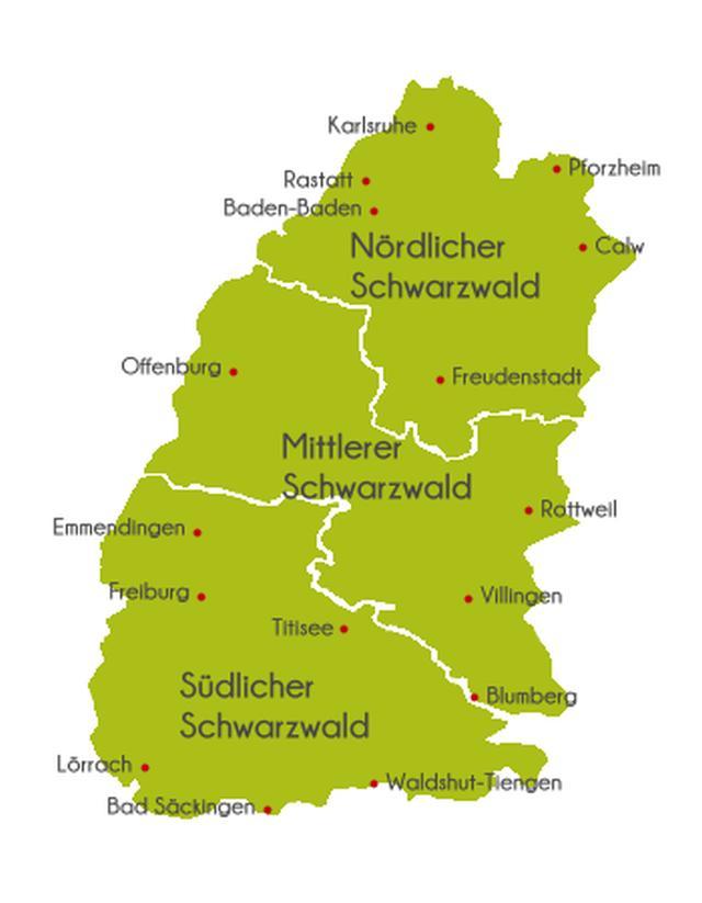Nordschwarzwald Karte.Nördlicher Schwarzwald Karte My Blog
