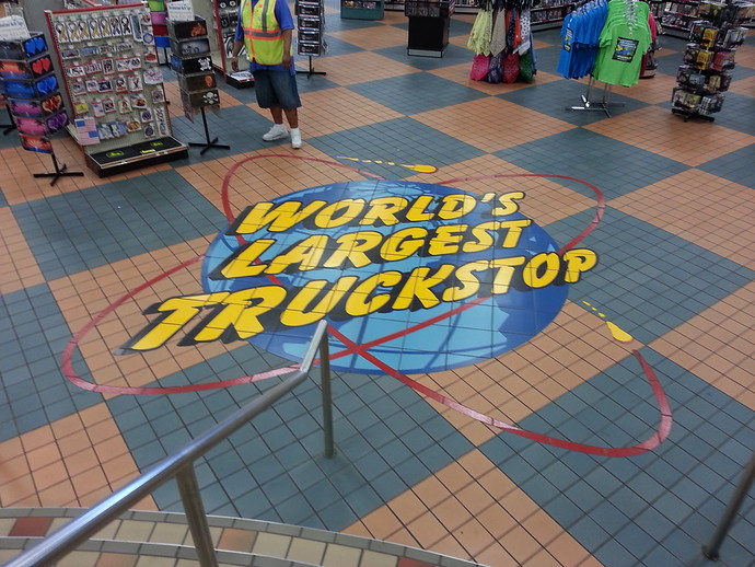 World's largest truck stop