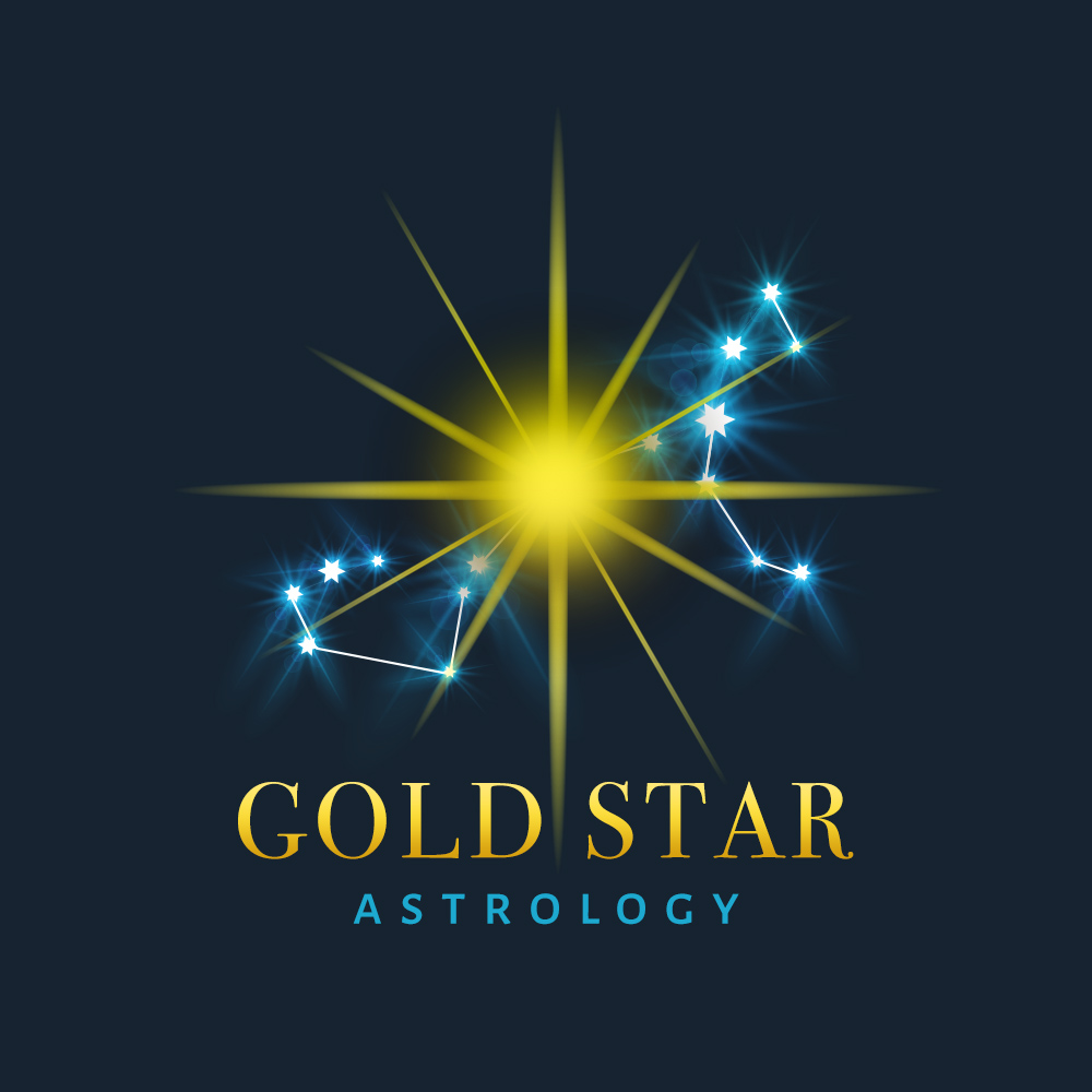Gold Star Astrology Logo