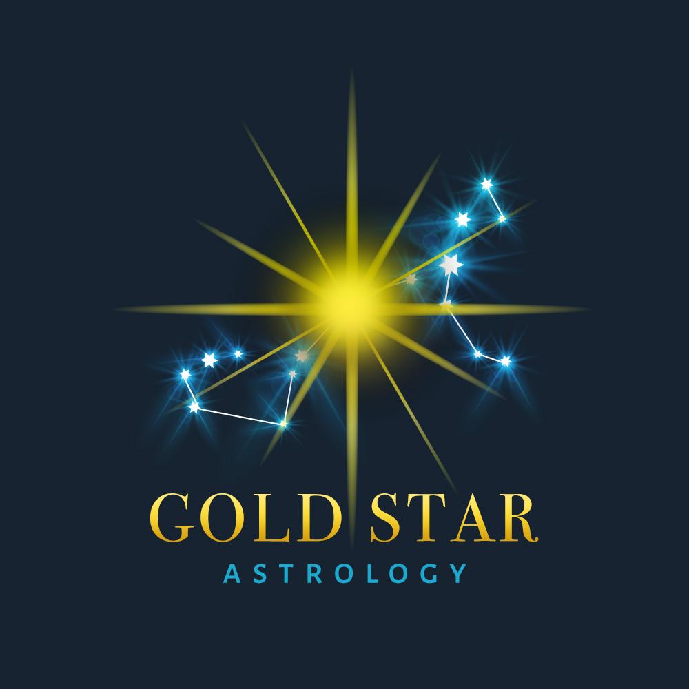 Gold Star Astrology Logo