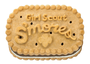 Girl Scout Cookie S'mores
